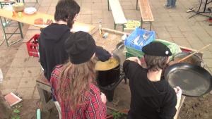 Querdaenker Festival Leisnig 2015 MitmachKüche